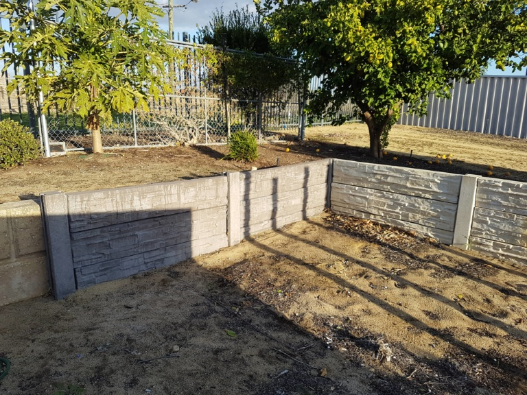 CONCRETE POST AND PANELS