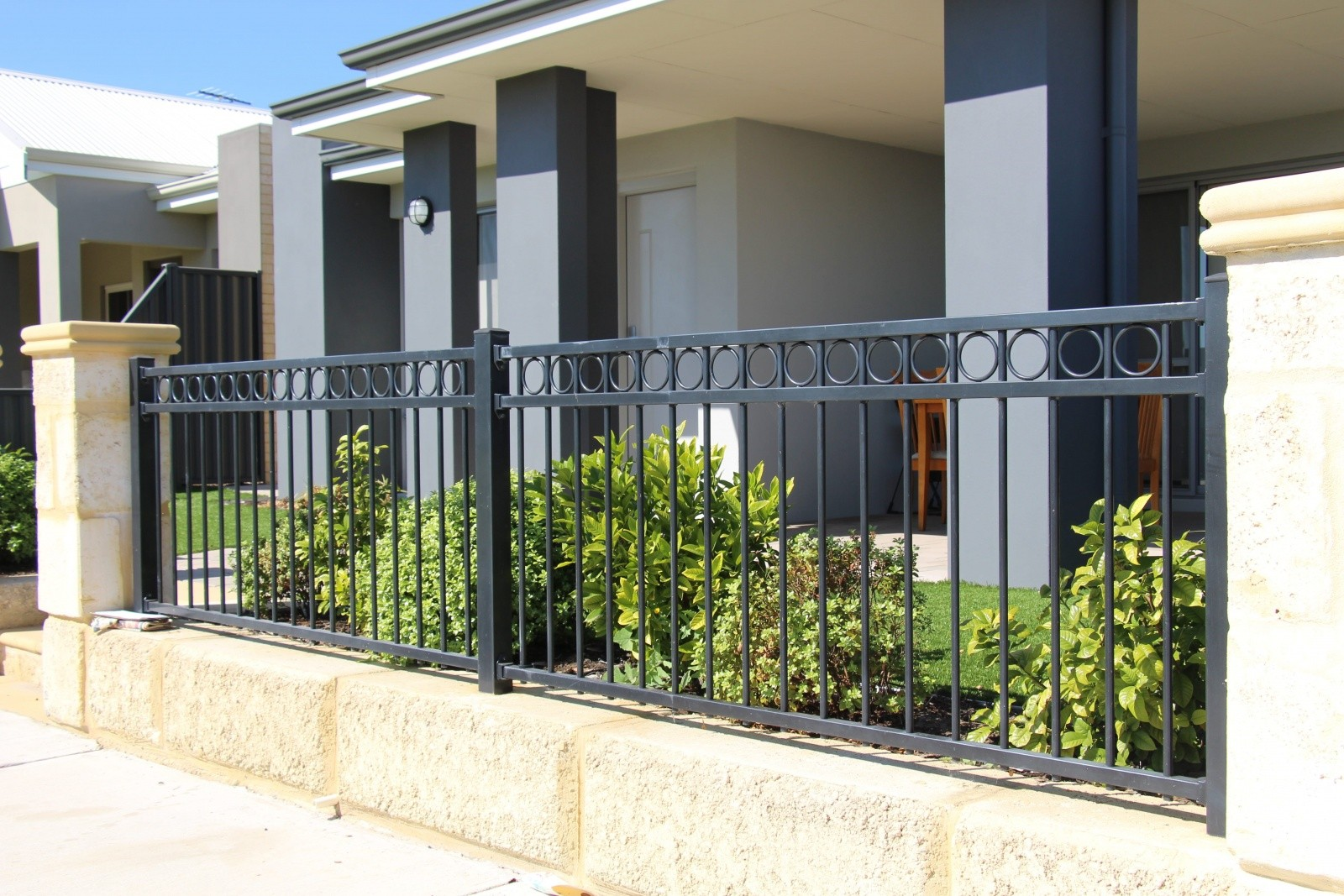 Steel Tubular Fencing Treacy Fencing